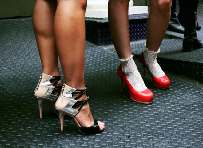 Shoe Spotting.