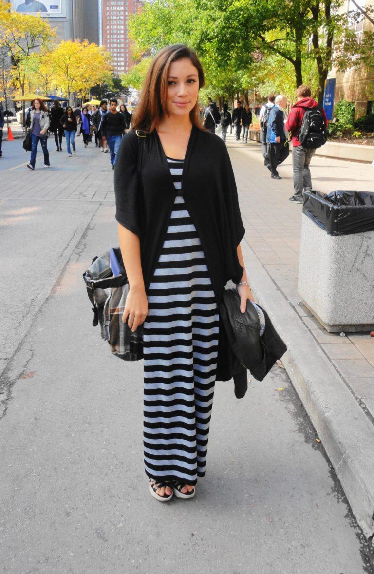 Maxi Dress, Toronto Street Style