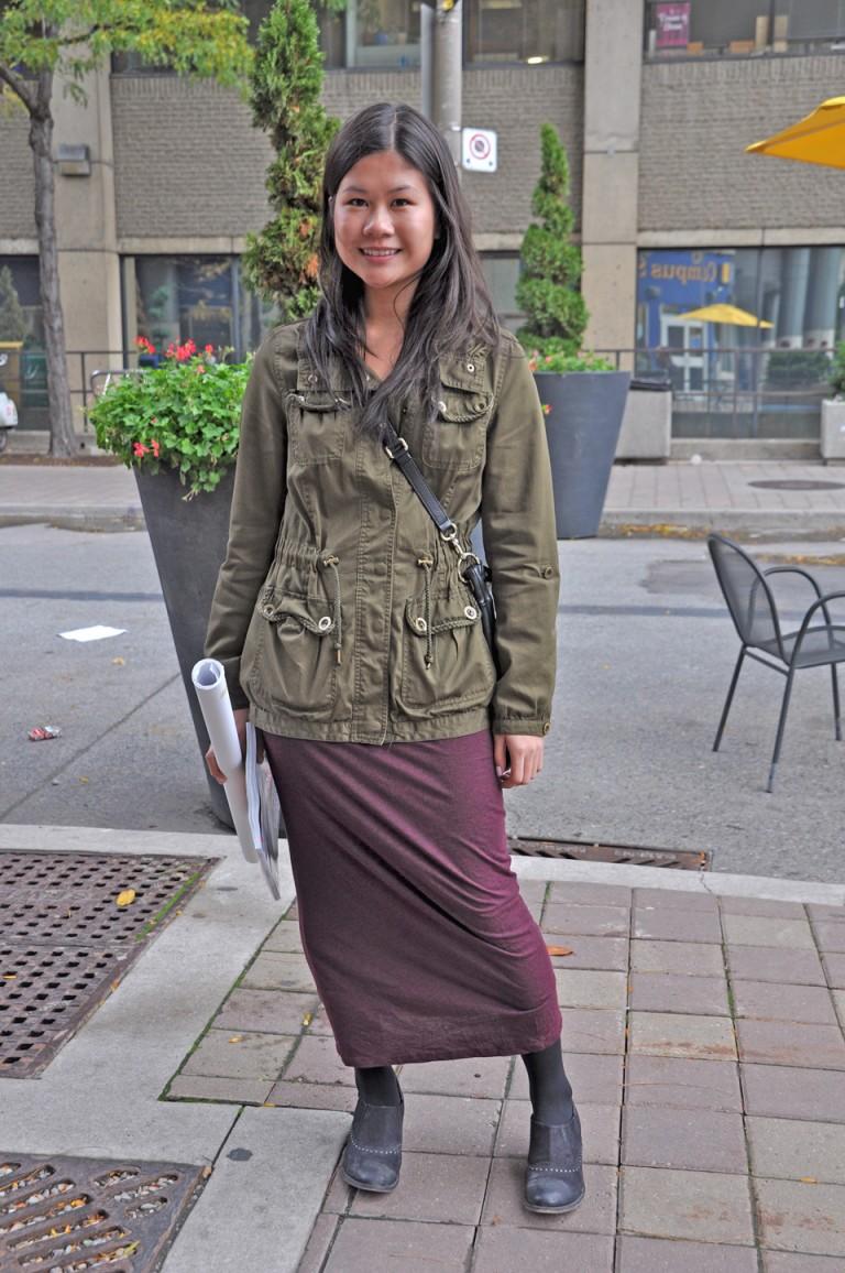 Aritzia and H&M, Toronto Street Style