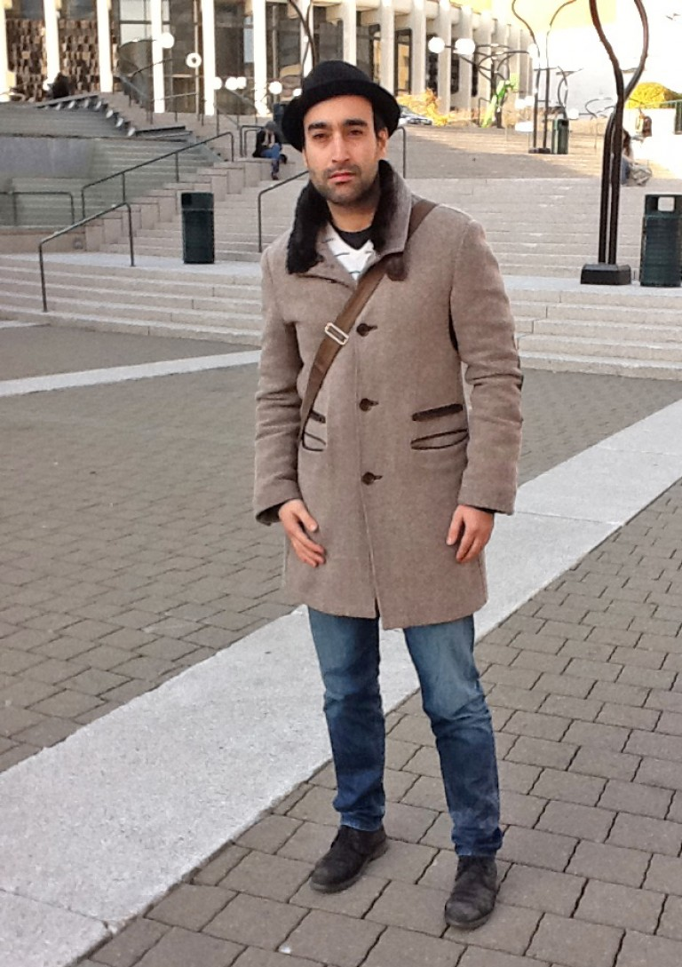 Collar Coat, Montreal Street Style