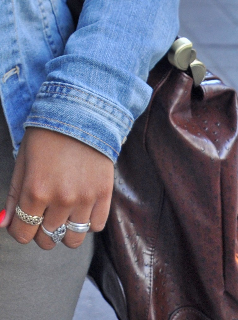 Silver Rings, Toronto Street Style
