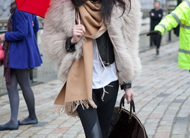 Lush Fur, Holiday Street Style