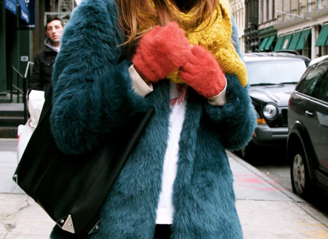 Colour Blocked Brights, New York Street Style
