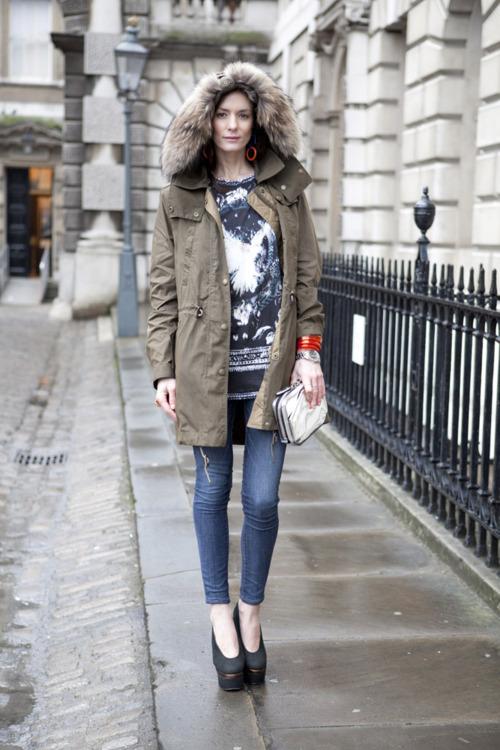 Parka, London Fashion Week - Street Style & Street Fashion ...