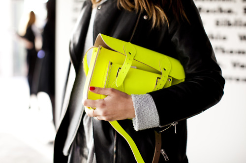 Cambridge Satchel, London Fashion Week