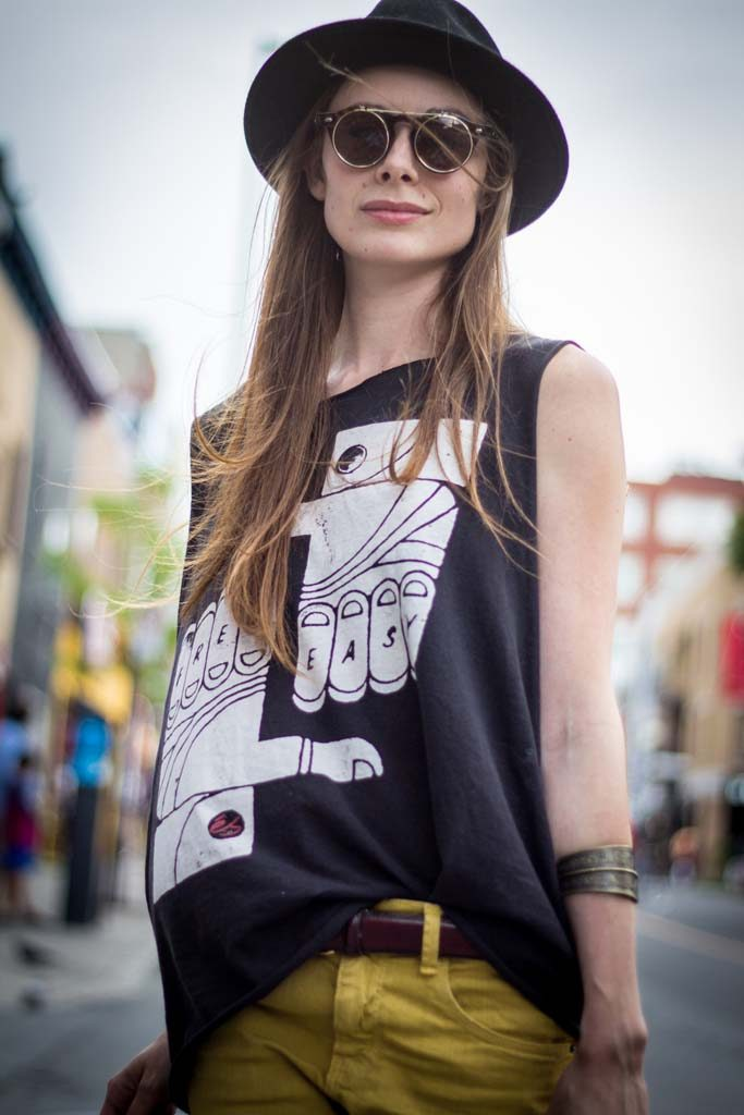 Tanktop, Montreal Street Style