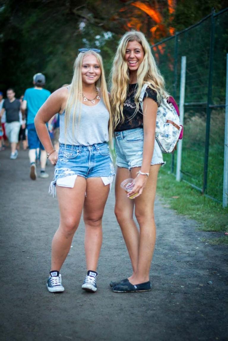Short Shorts, Montreal Festival Fashion at Osheaga