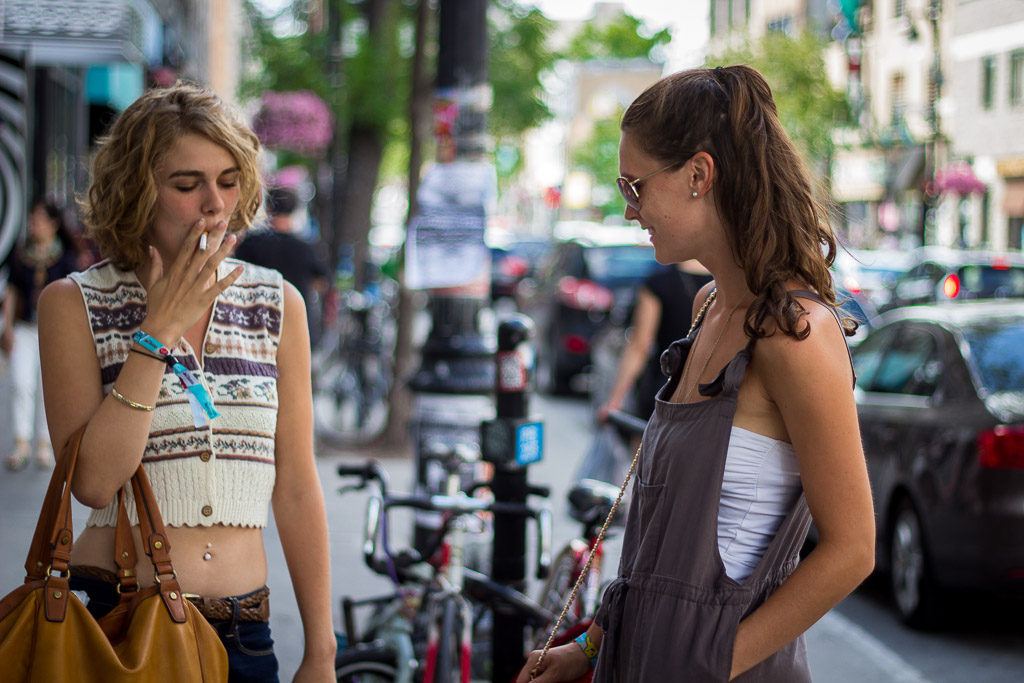 The Plateau, Montreal street style