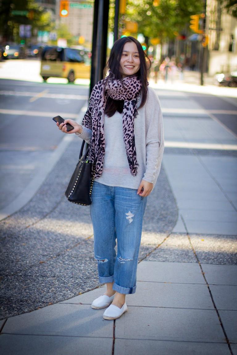 Boyfriend Jeans, Vancouver Street Fashion