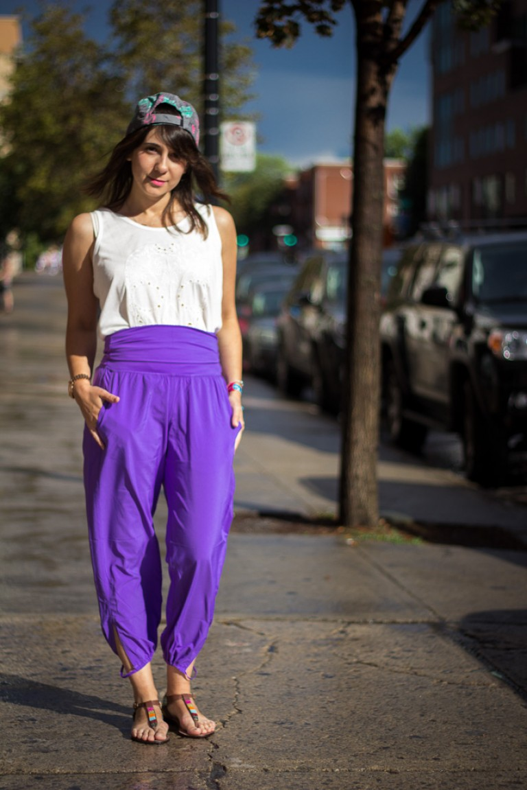 High Wasted Pants, Montreal Street Fashion