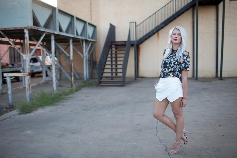 Zara Skort Texas Street Style Street Style Street Fashion Streetscout Me