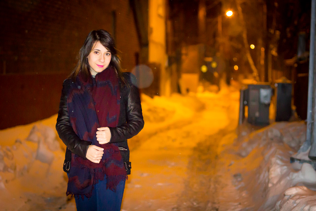 Cold outside, Montreal street style