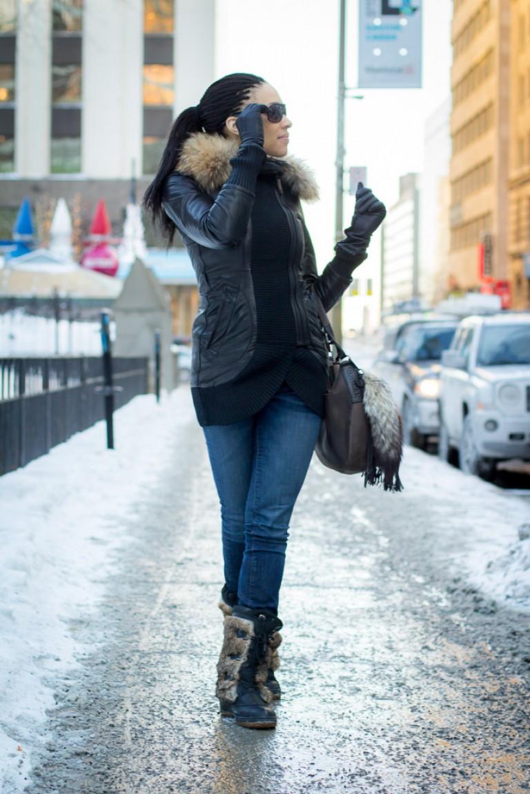 Montreal Singer, Shahara Rocking Rudsak in -20
