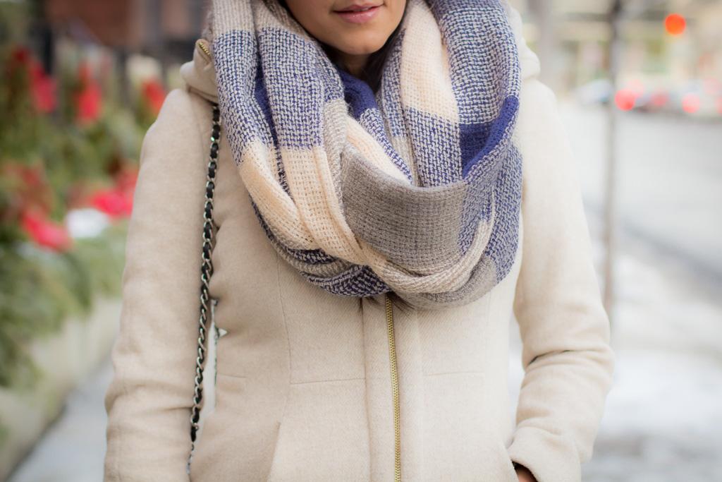 Winter whites, Toronto street style