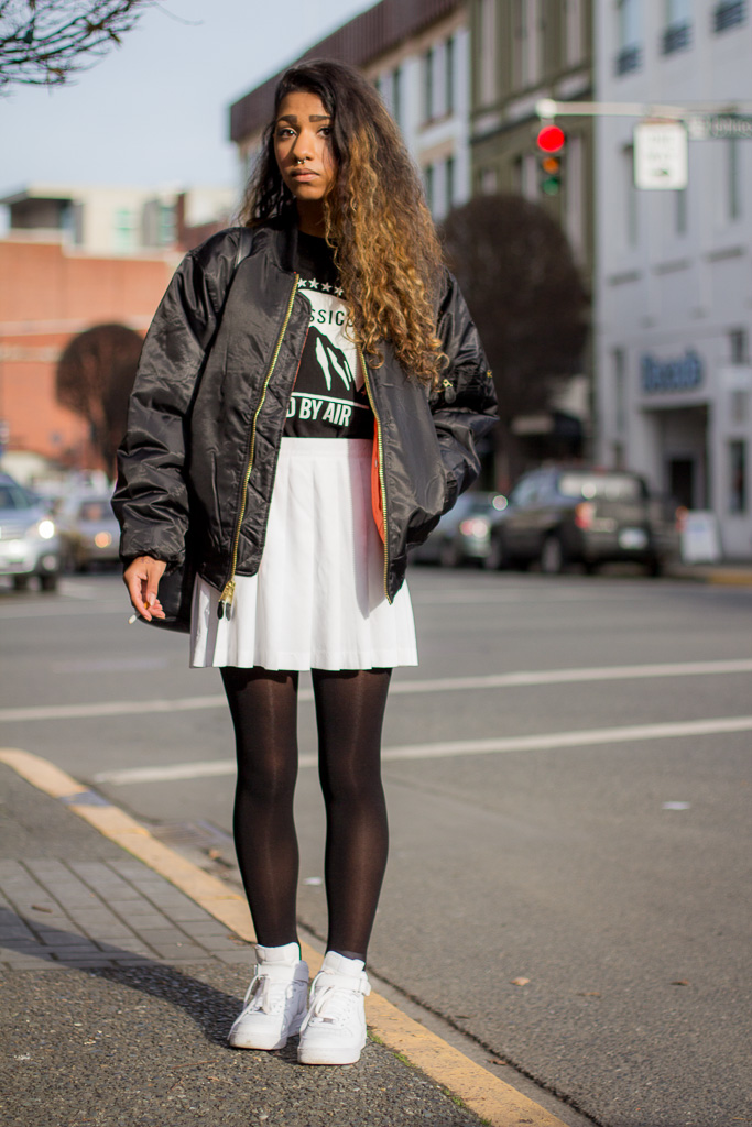 Collection Bomber Jacket Street Style Pictures - Reikian