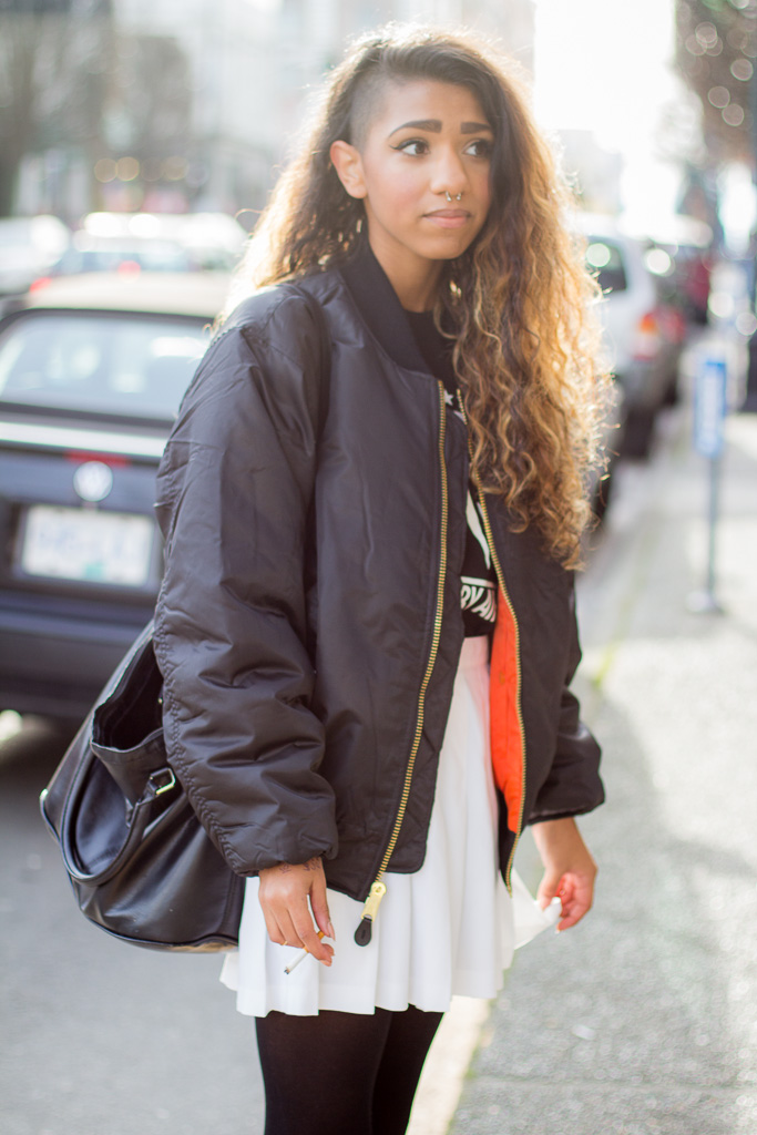Bomber Jacket, Victoria Street Style - Street Style & Street ...