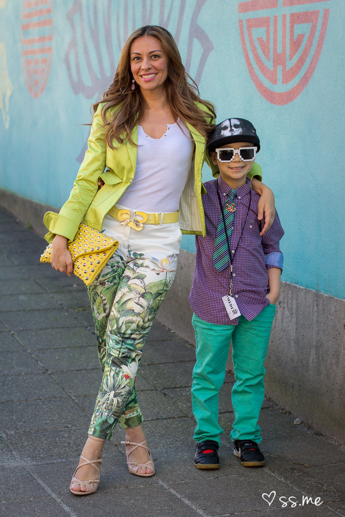 Mother & Son Duo, Vancouver Fashion Week