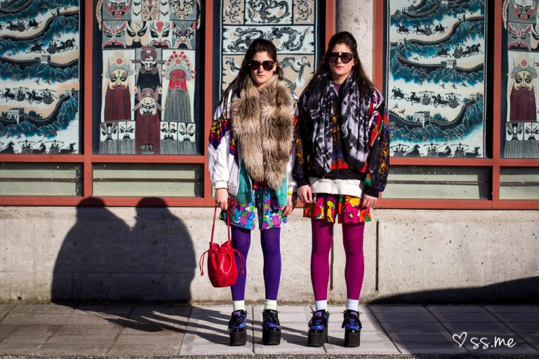 Nadia + Zehra Getting Colourful at Vancouver Fashion Week, Day 4