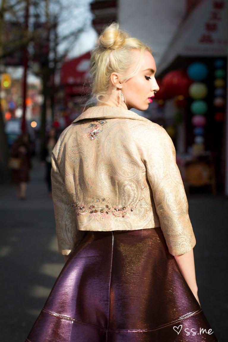 Scuba Dress, Vancouver Fashion Week
