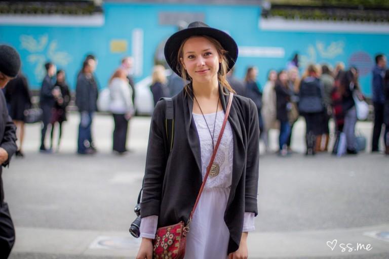 Josie Saldat of Niche Magazine, Vancouver Fashion Week