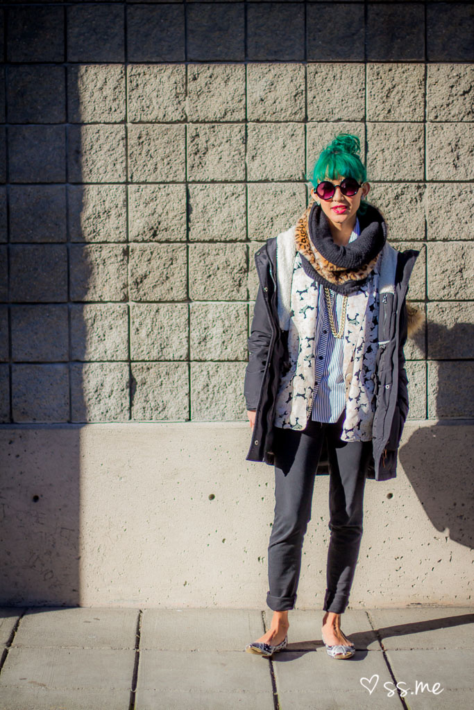 Green Hair, Vancouver Fashion Week