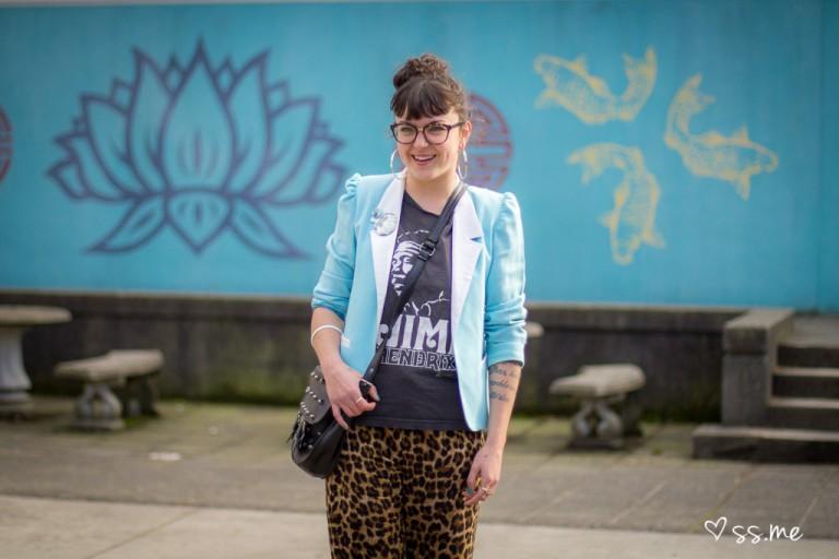 Leopard Pants, Vancouver Fashion Week