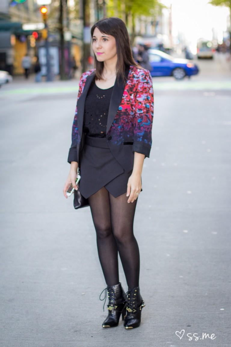 Sarah Stevenson for Target Blazer, Eco Fashion Week
