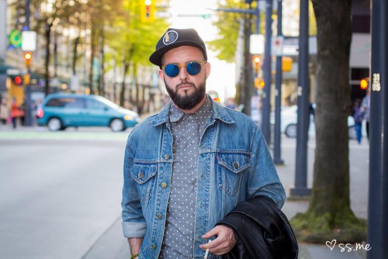 Graeme Berglund of The Cheaper Show, Eco Fashion Week
