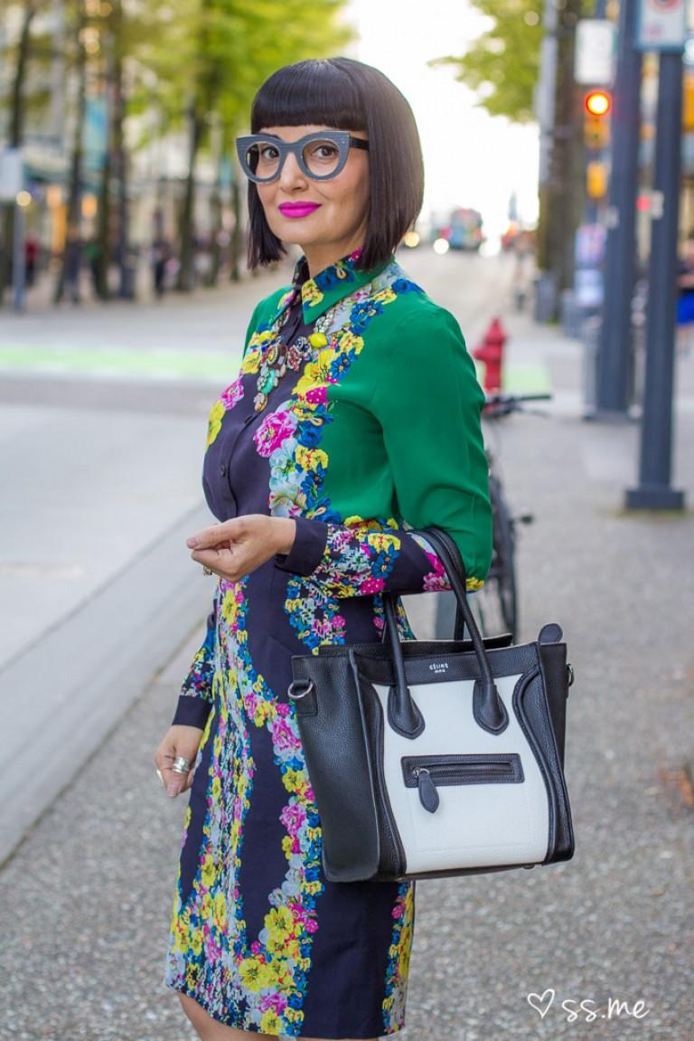 Printed Dress, Eco Fashion Week