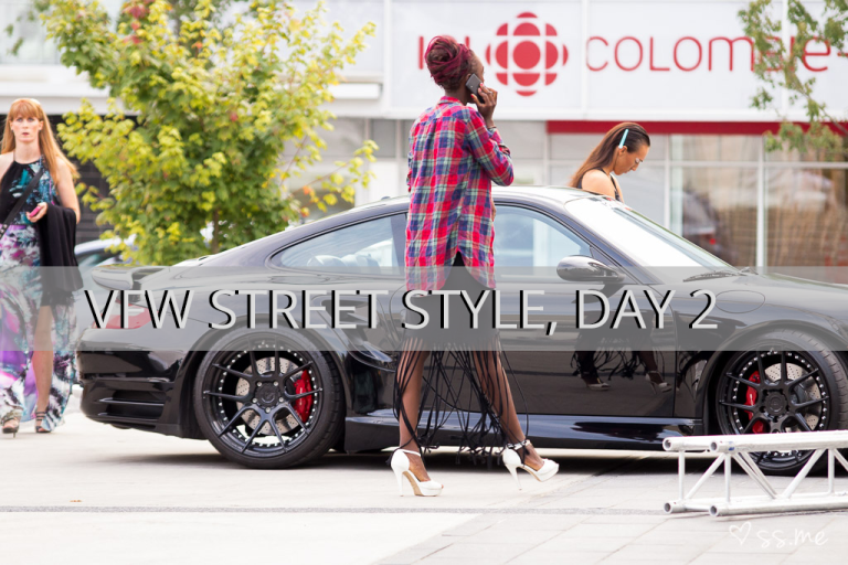 Vancouver Fashion Week SS15, Day 2 Street Style