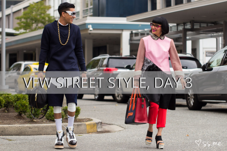 Vancouver Fashion Week SS15, Day 3 Street Style