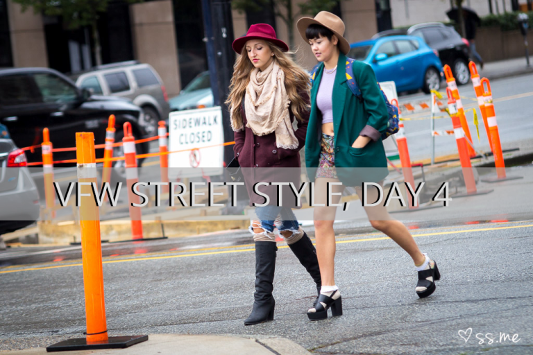 Vancouver Fashion Week SS15, Day 4 Street Style