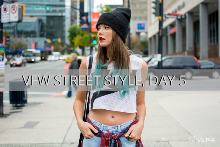 Vancouver Fashion Week SS15, Day 5 Street Style