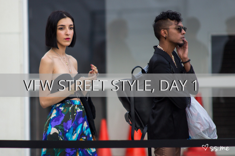 Vancouver Fashion Week SS15, Day 1 Street Style
