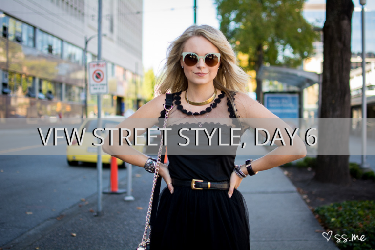 Vancouver Fashion Week SS15, Day 6 Street Style