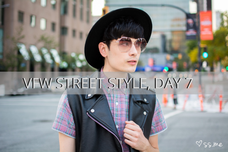 Vancouver Fashion Week SS15, Day 7 Street Style