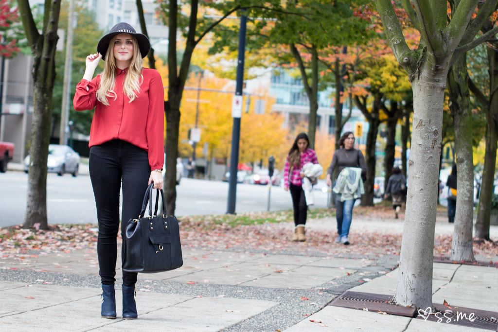 The Urban Umbrella style blogger