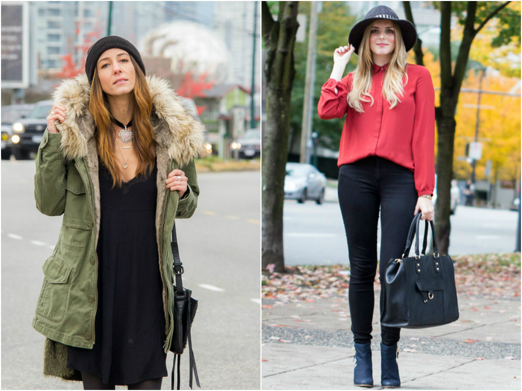 Style blogger in Vancouver