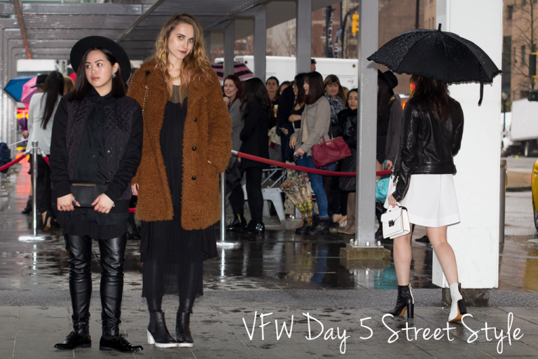 Vancouver Fashion Week FW15 Day 5 Street Style