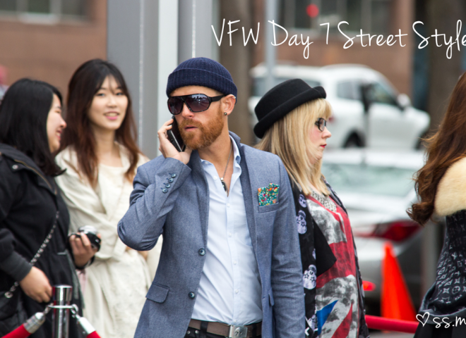 Vancouver Fashion Week FW15 Day 7 Street Style