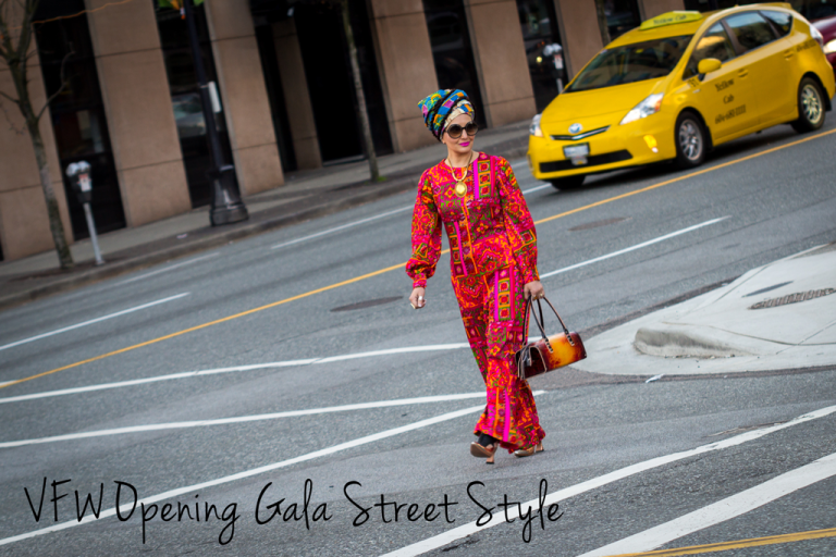 Vancouver Fashion Week FW15 Opening Gala Street Style