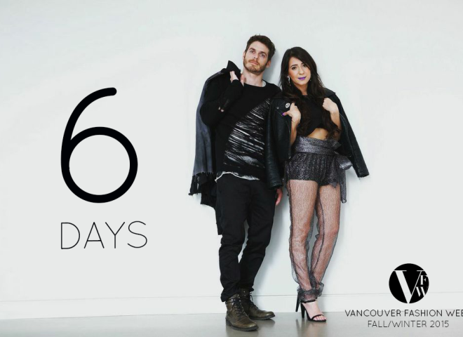6 Days Until Vancouver Fashion Week | Blogger Countdown