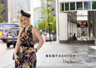 Eco Fashion Week 2015, Day 3 Street Style