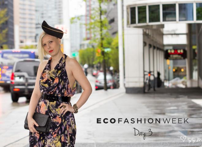 Eco Fashion Week 2015, Day 3 Street Style