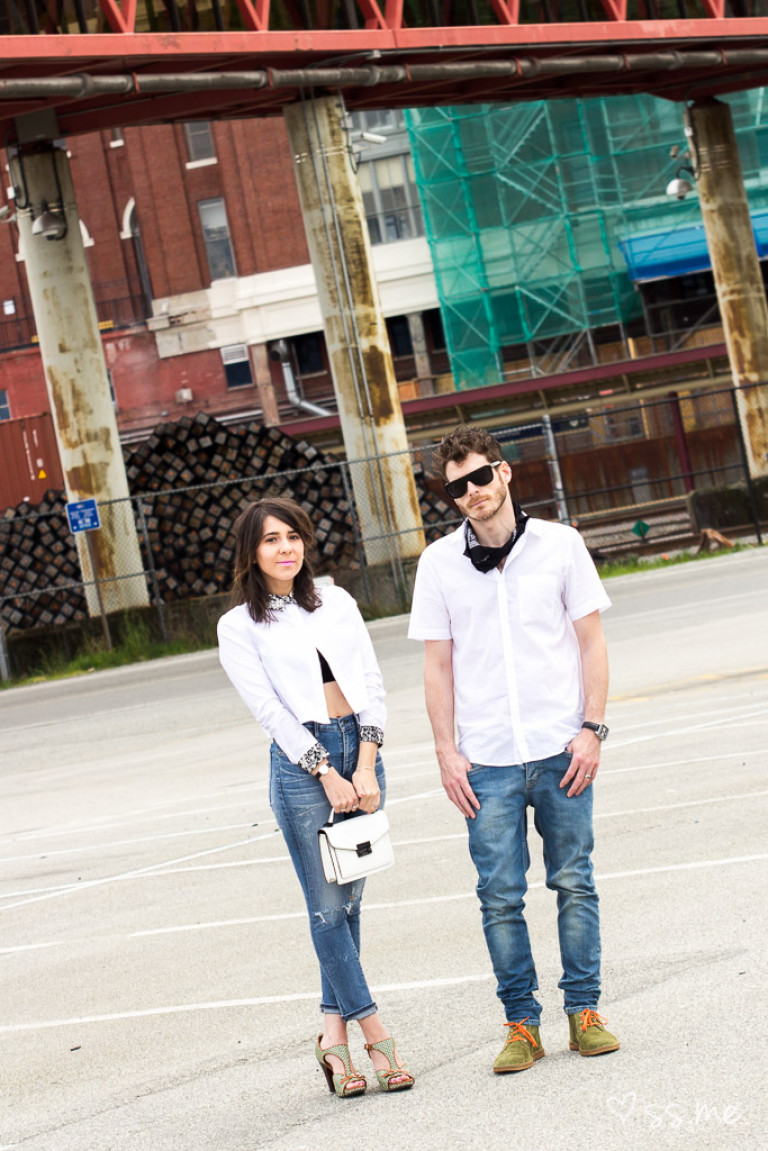 Walk A Mile In The Blogger's Shoes: Sabrina + Jeremy