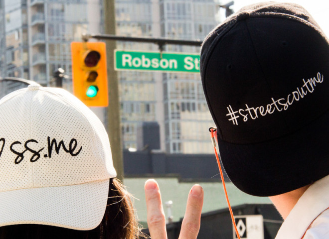 Get Street Scouted On Robson Street (And Win)!