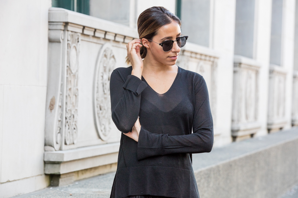 How To Wear All Black