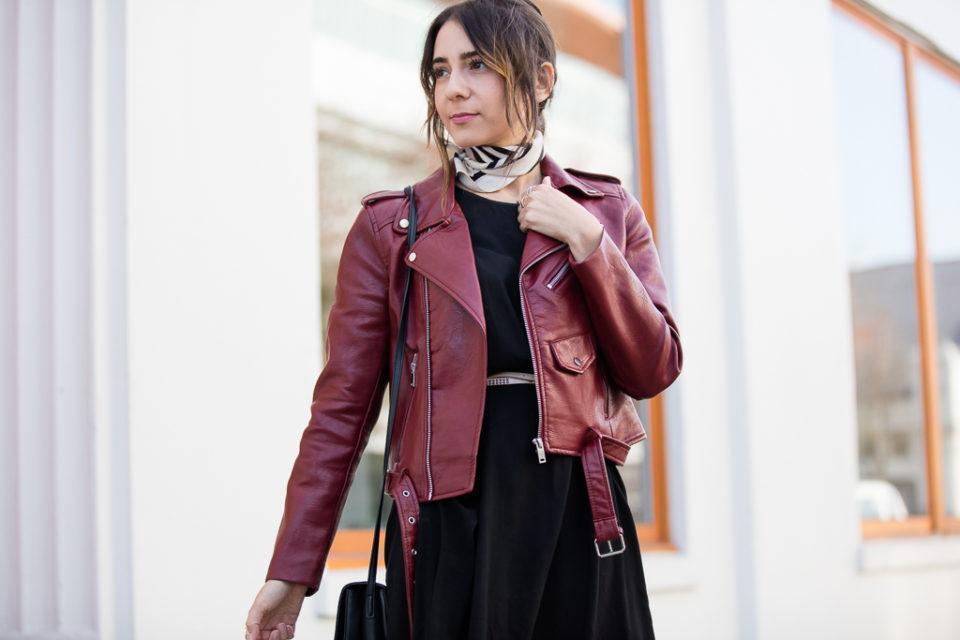 Zara moto jacket - Vancouver style blogger