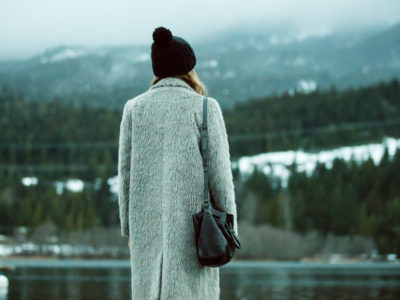 Street Style In The Snow At Joffre Lake