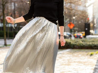 Why You Need To Own Something Metallic Right Now